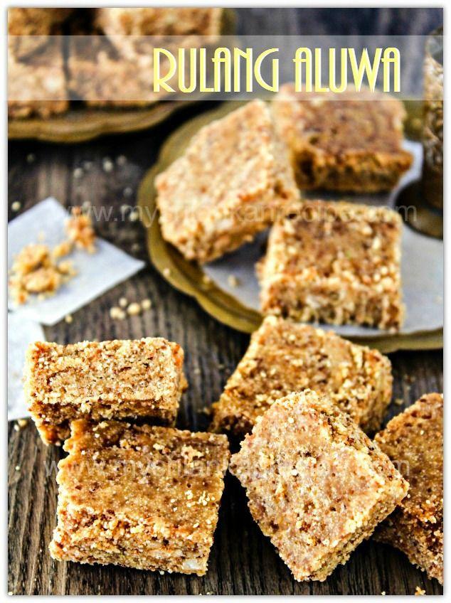 Sri Lankan Coconut Rulang Aluwa Recipe Sweet Recipes Desserts Easy Sweets Fudge Recipes