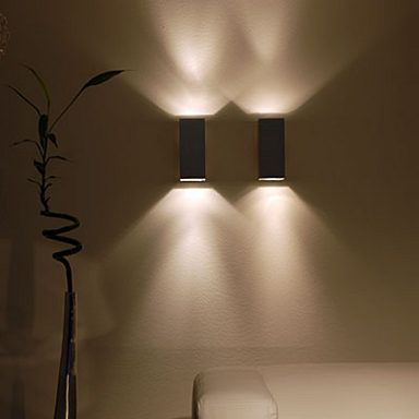 s`luce Wandleuchte Wandstrahler »MADRAS 2-flammig, alu-brushed - wohnzimmer deckenlampen design