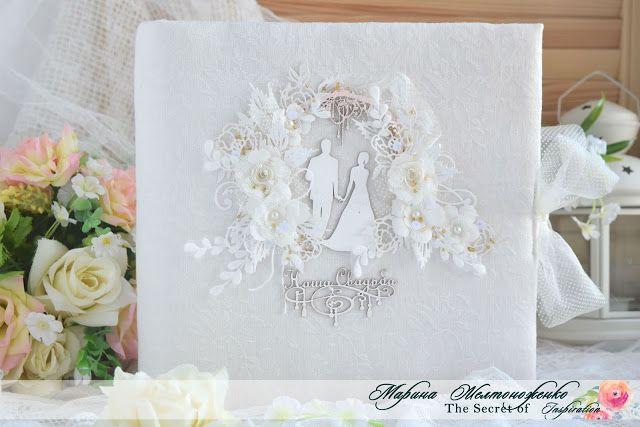 Шикарный свадебный альбом от Марины Желтоноженко ...