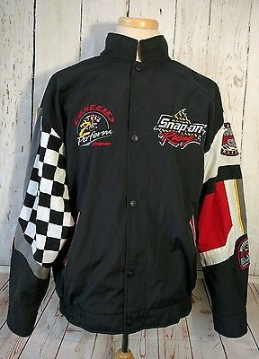 Snap On Tools Choko Racing Edition Canvas Jacket Xl Mens Black Red Snap Front Mens Outfits