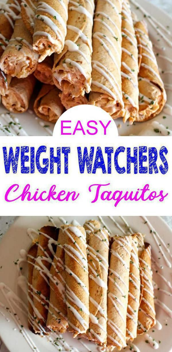 Weight Watcher Buffalo Chicken Taquitos – EASY Weight Watcher Chicken Recipe – BEST Dinner – Snack – Appetizer or Party Food Idea images