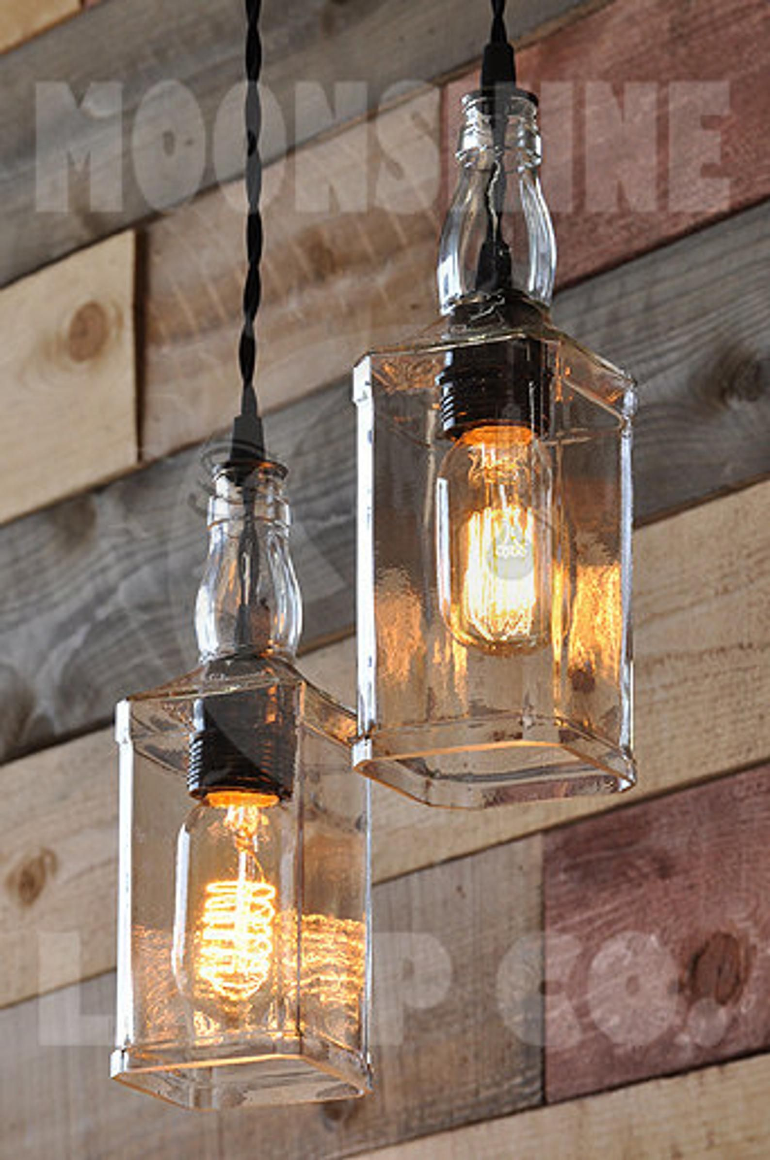 The Warehouser Rustic Farmhouse Pendant Chandelier Pulley ...