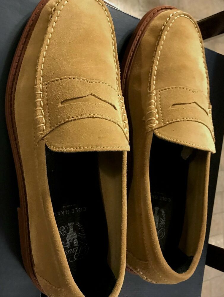 35776c426d0 Cole Haan Men s Pinch Campus Grand OS Milkshake Suede Penny Loafer 8.5 M   fashion  clothing  shoes  accessories  mensshoes  casualshoes (ebay link)
