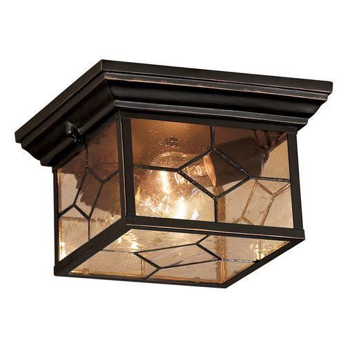 Lowe S Portfolio Oil Rubbed Bronze Outdoor Flush Mount Light Idea For Back Porch Replac Outdoor Flush Mount Lights Outdoor Flush Mounts Flush Mount Lighting