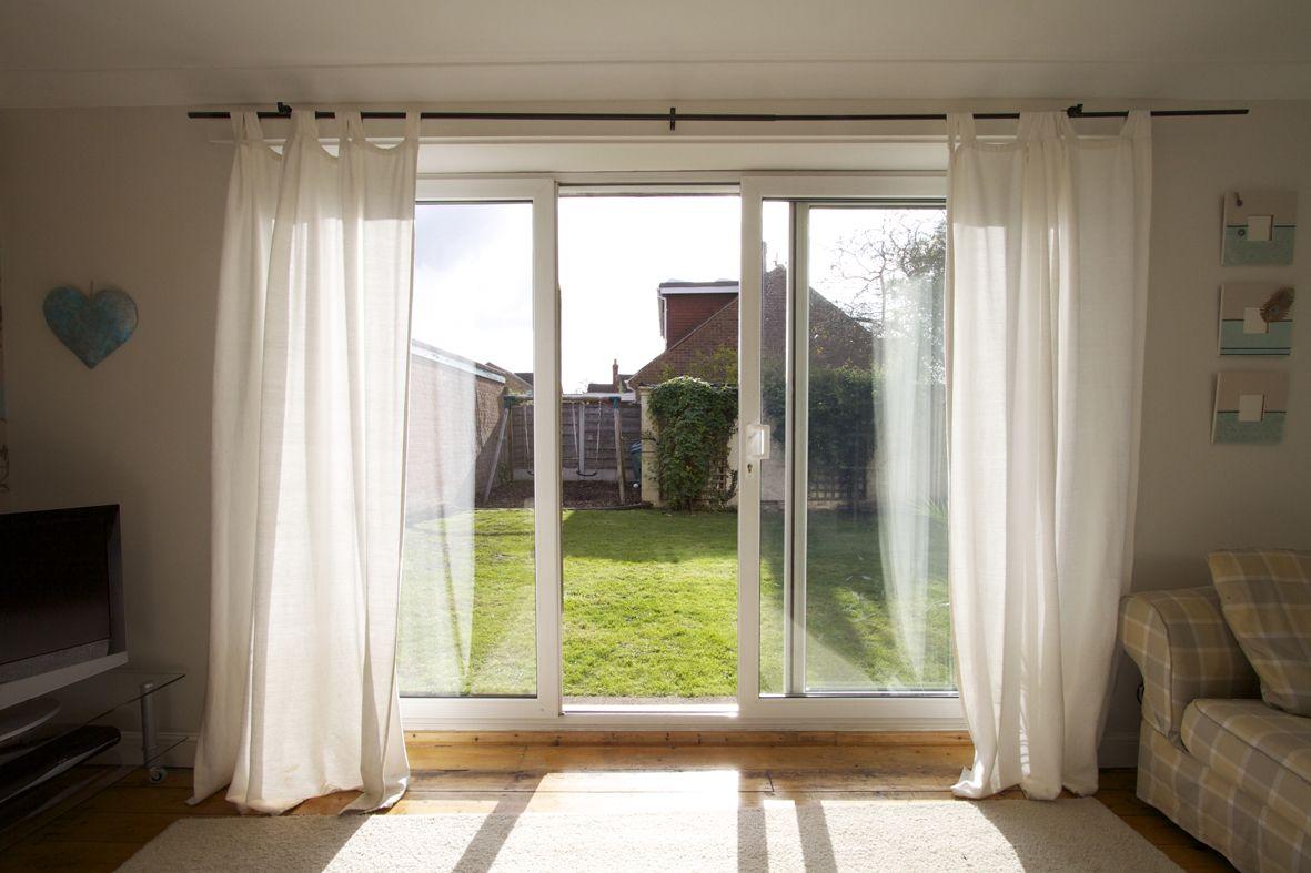 Curtains For Sliding Doors Patio Door Curtain Ideas Sliding Glass