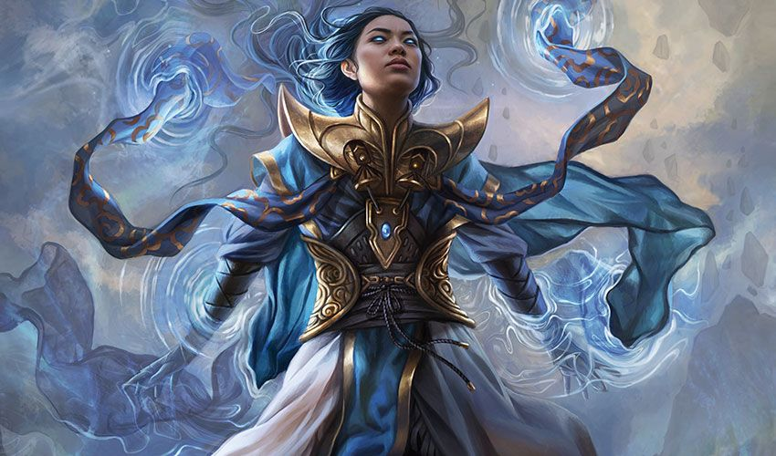 Narset Parter Of Veils Character Portraits Magic The Gathering The Gathering