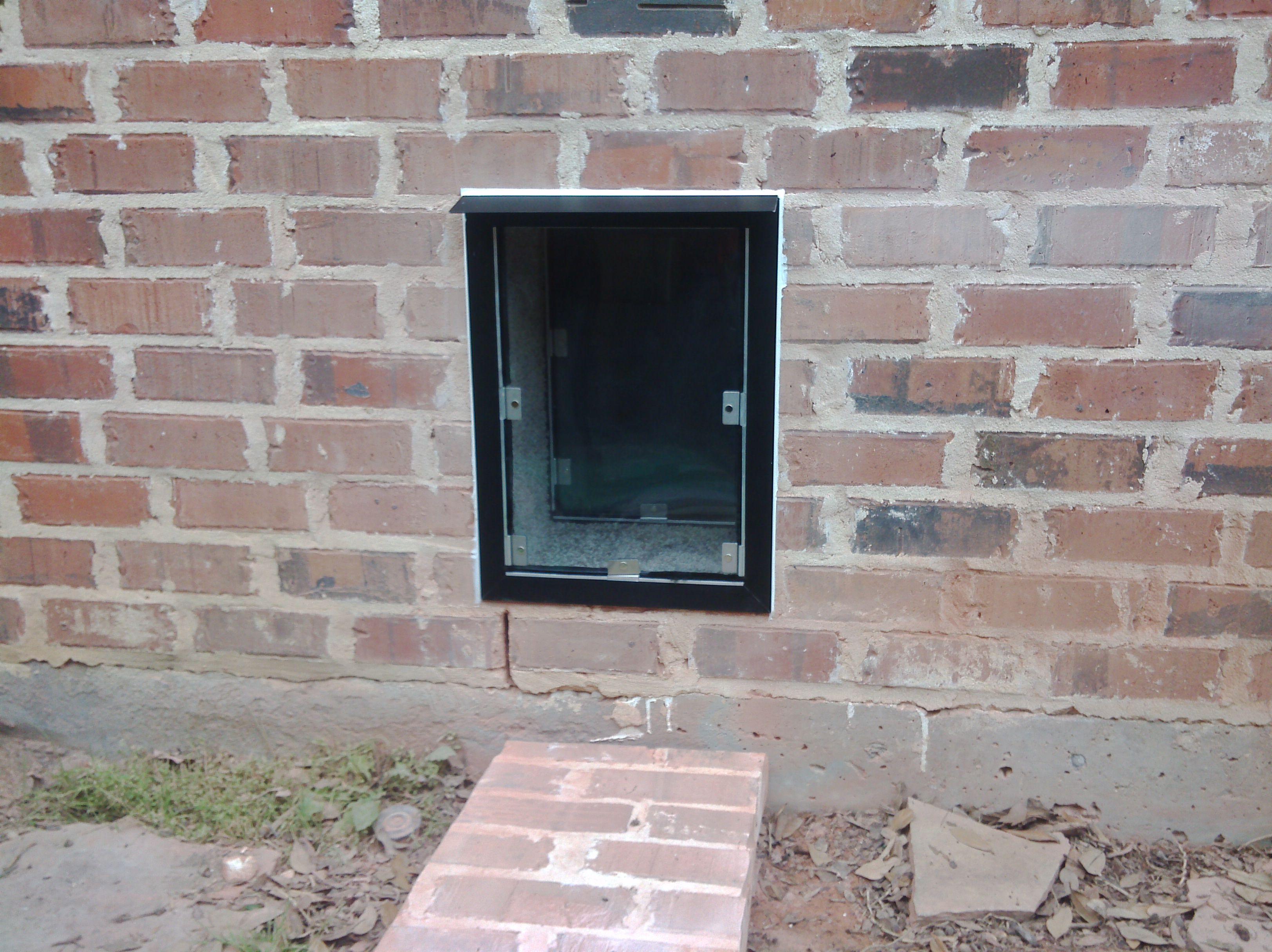 Medium Hale pet door Door installation, Wall