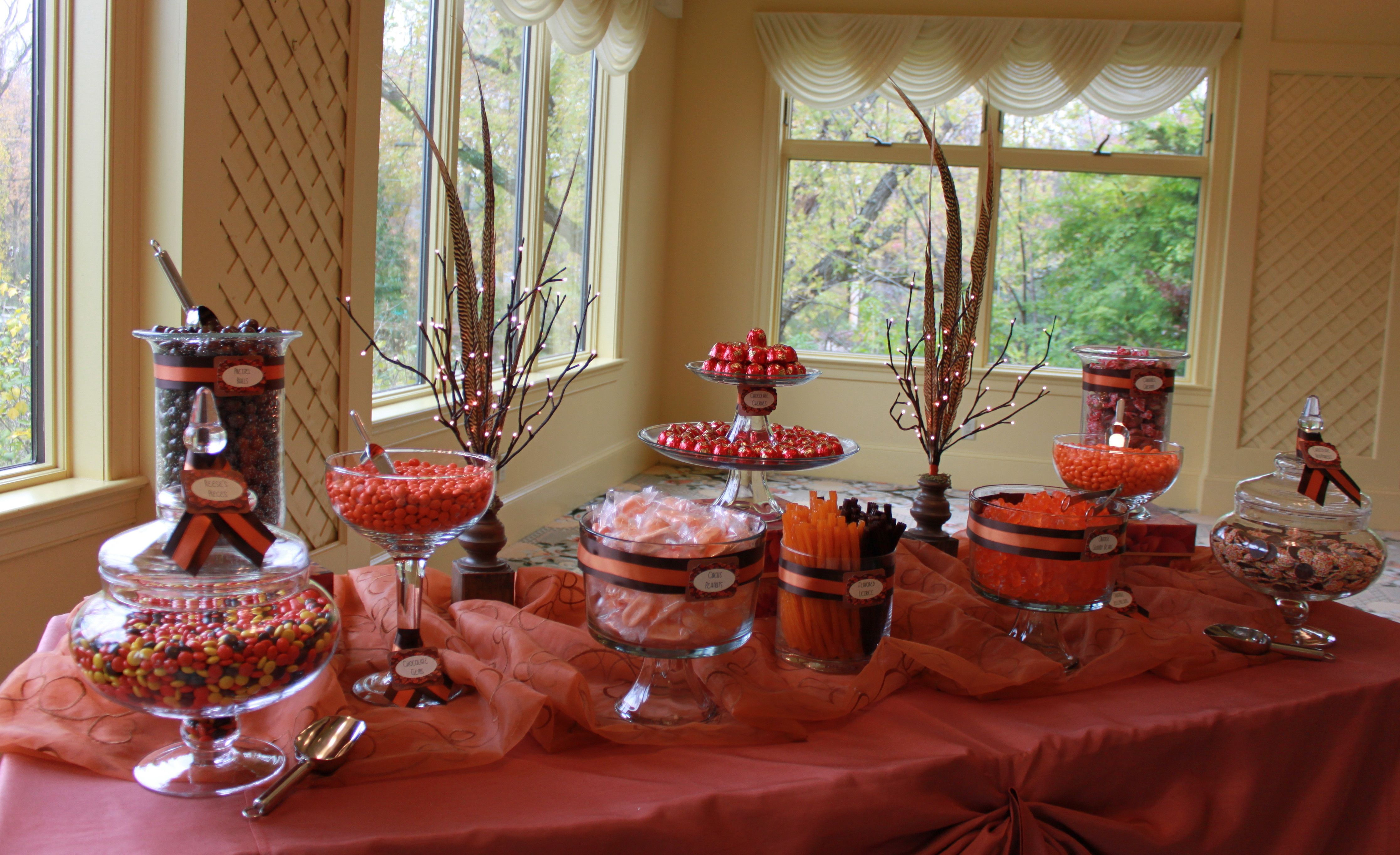 Autumn Candy Buffet By Georgie Lou 39 S Retro Candy Gifts