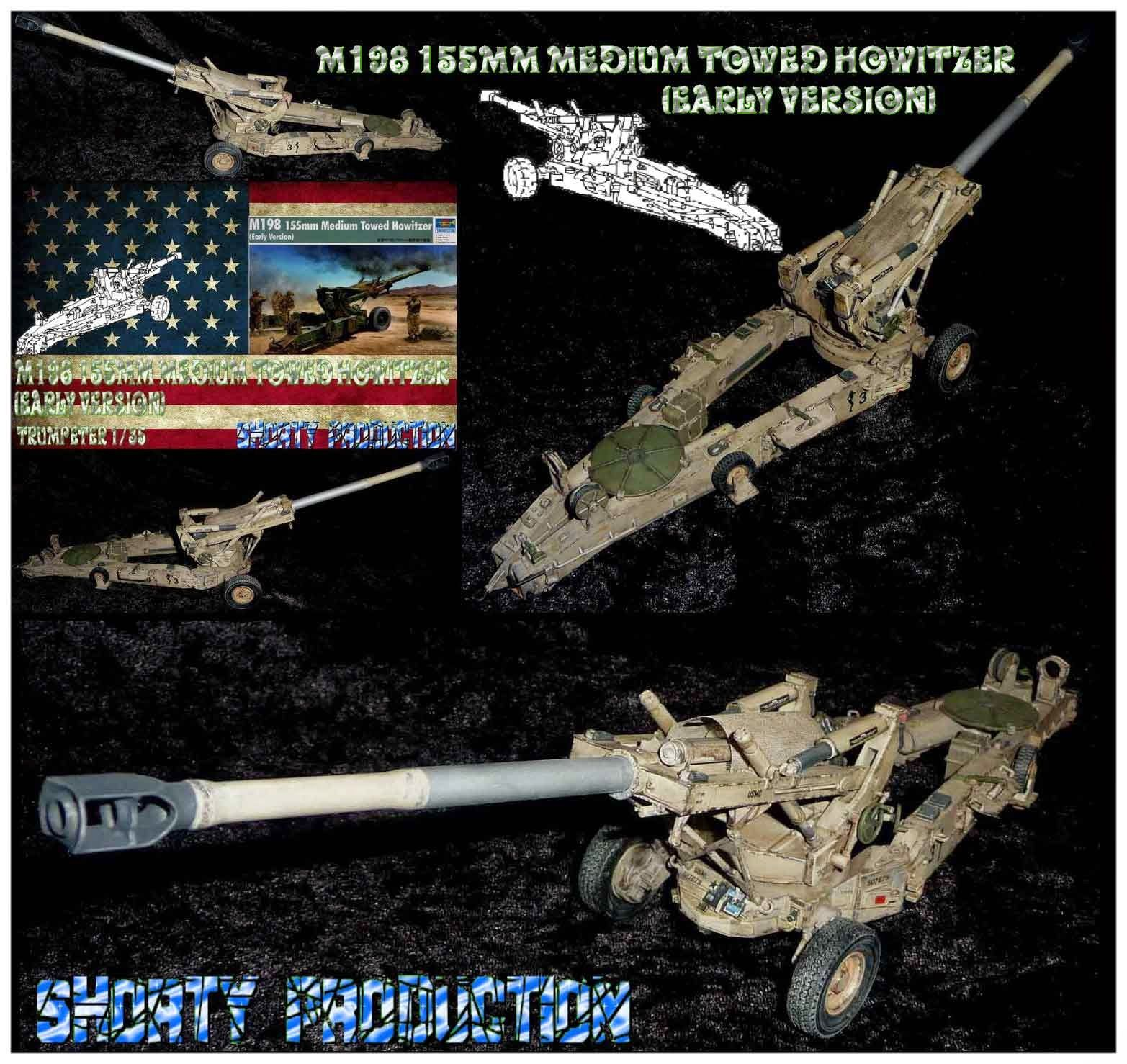 Shorty-Production: M198 155mm Medium Towed Howitzer
