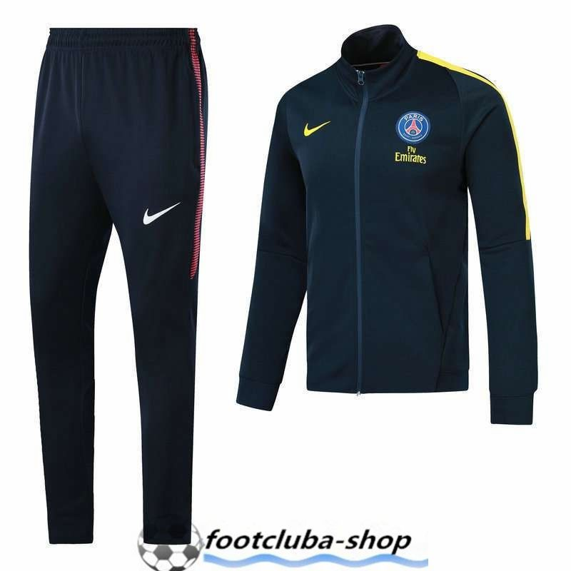 a7da349228fa7 Site Survetement de Foot PSG Bleu Marine 2017 2018 Decathlon ...