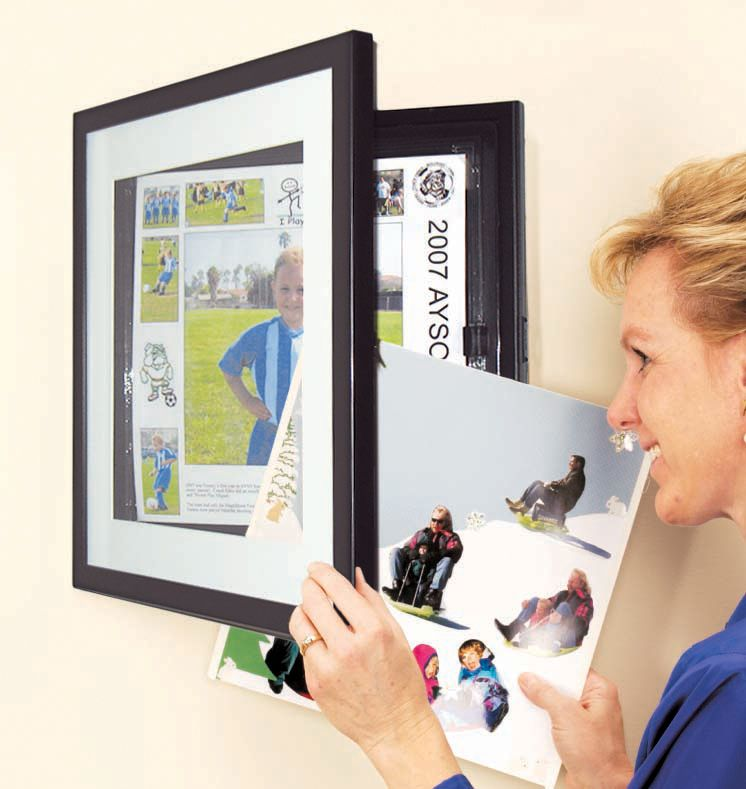 Dynamic Frames Kids Art Frame - swap out pictures without removing ...