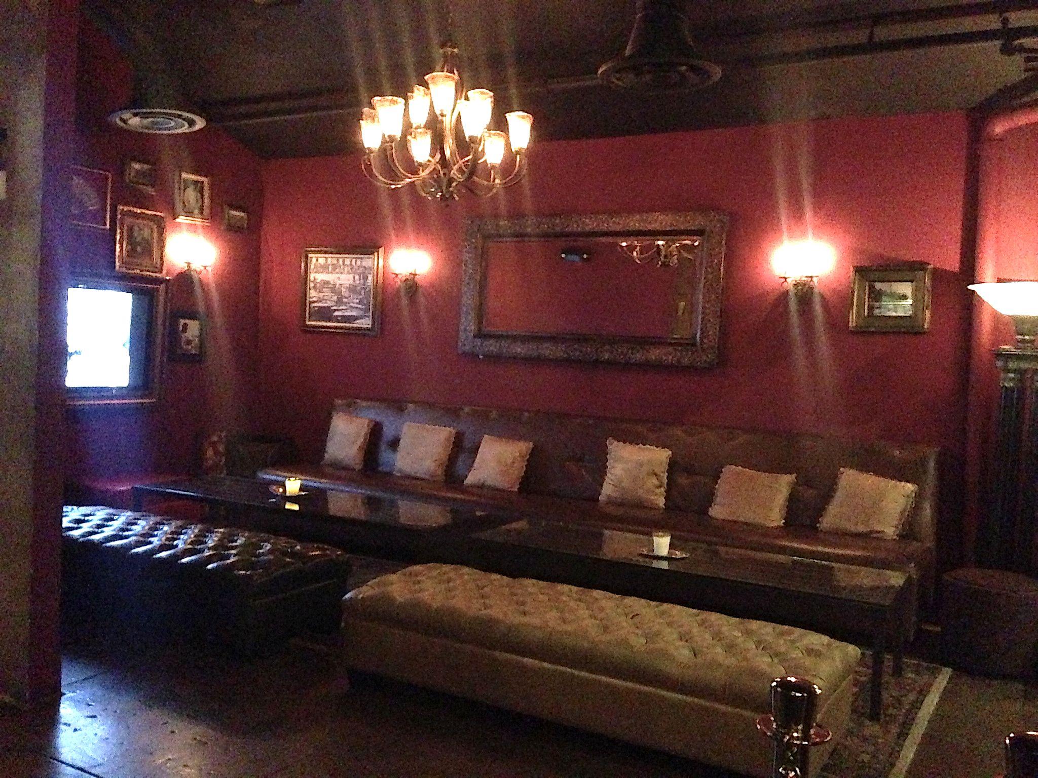Cuban Cigar Lounge Decor