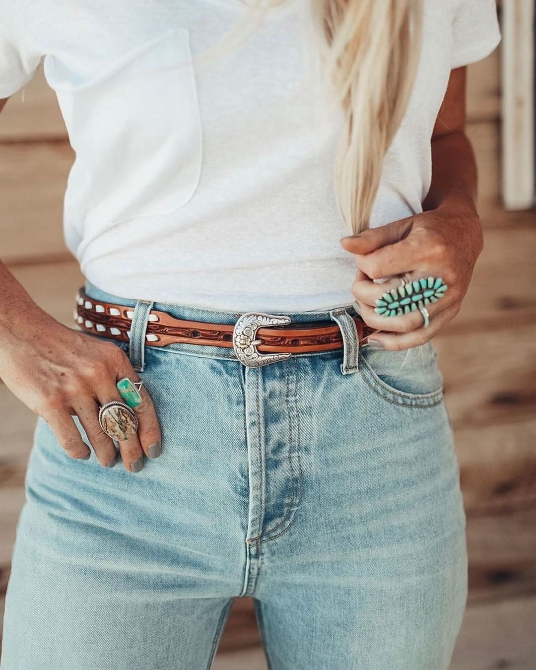 "COWGIRL Magazine on Instagram: ""Belts and baubles. Photo Credit: @flatlandtradingcompany . . . . #cowgirl #cowgirls #cowgirlmagazine #iamcowgirl #magazine #fashion…"""