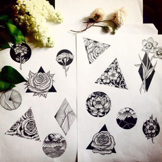 Daffodil Tattoos And Anchor