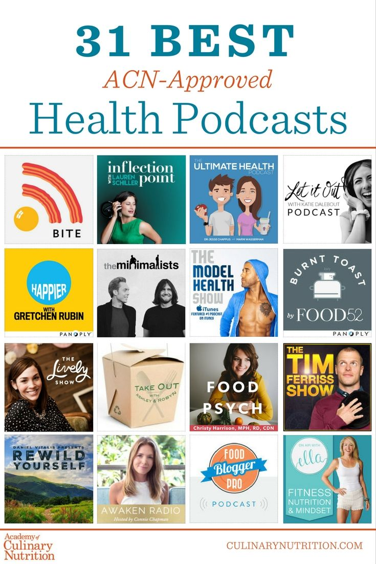 31 Best ACNApproved Health Podcasts