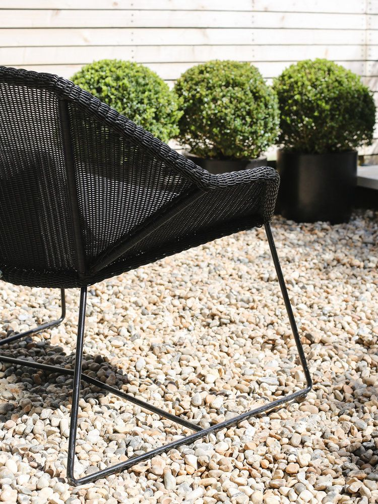 Black rattan Danish garden chair by Cane-line   Design Hunter - Danish Outdoor Furniture From Cane-line Danish, Rattan And Danish