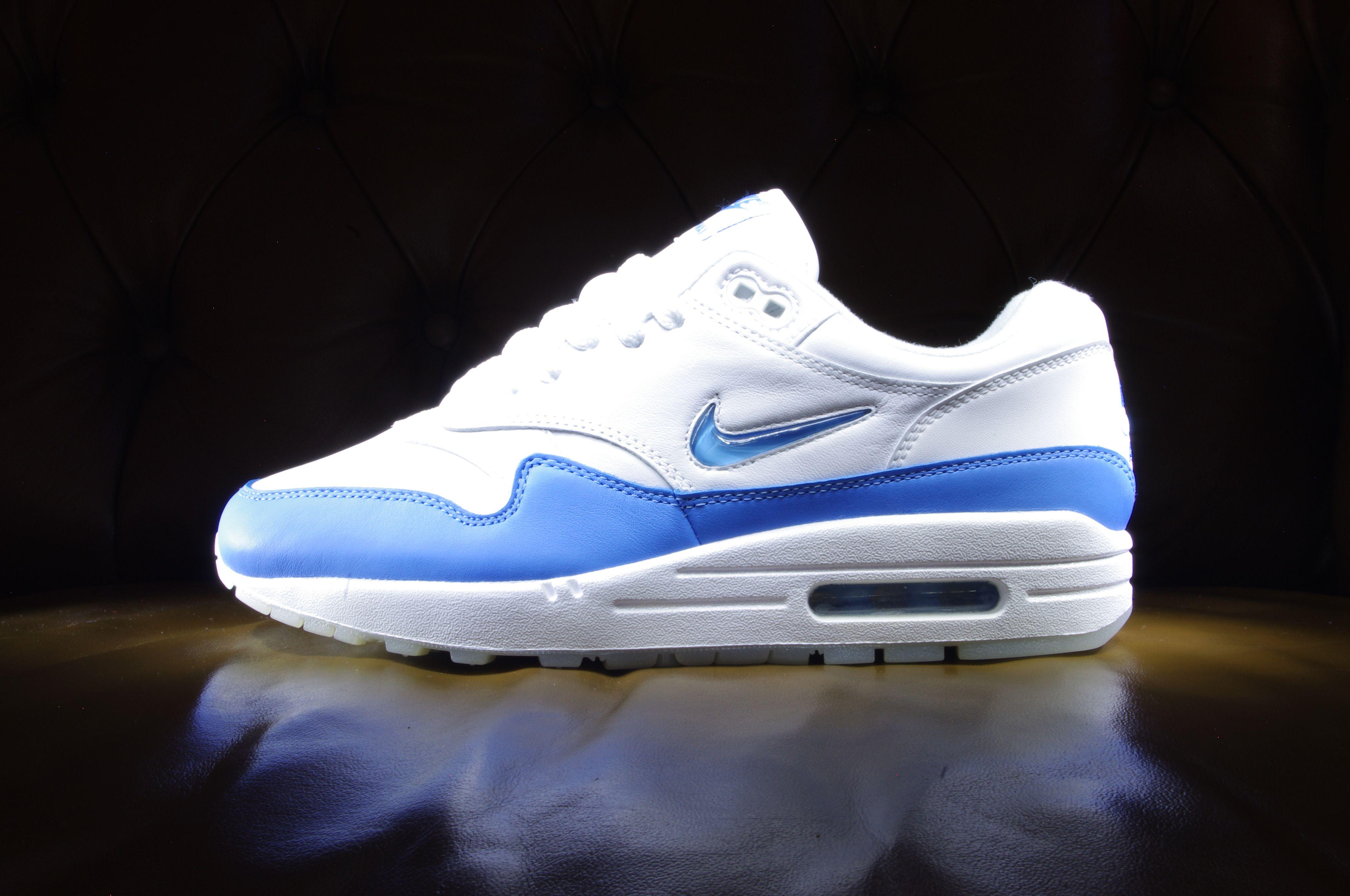 Nike Air Max 1 Premium Jewel SC 'University Blue' : où l