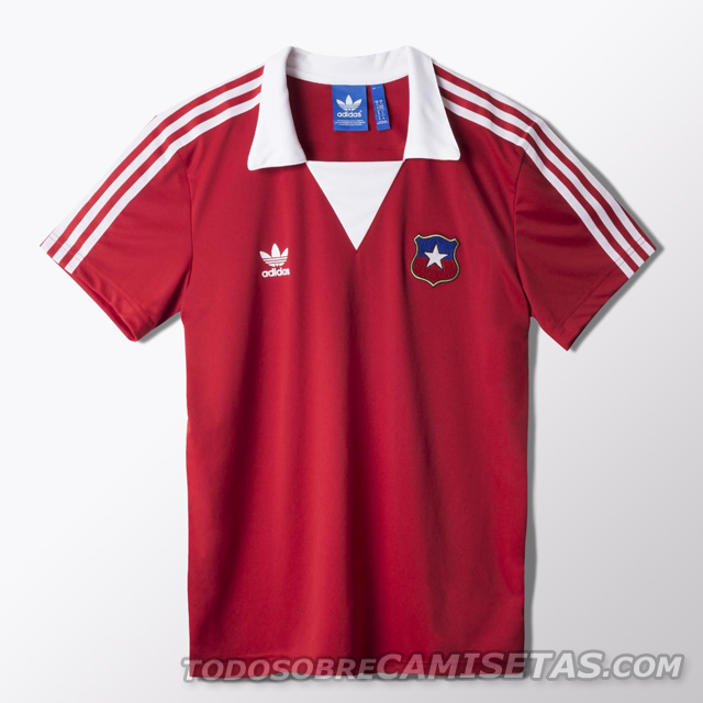 MODA: Camiseta Adidas Originals de Chile en España 82 Todo