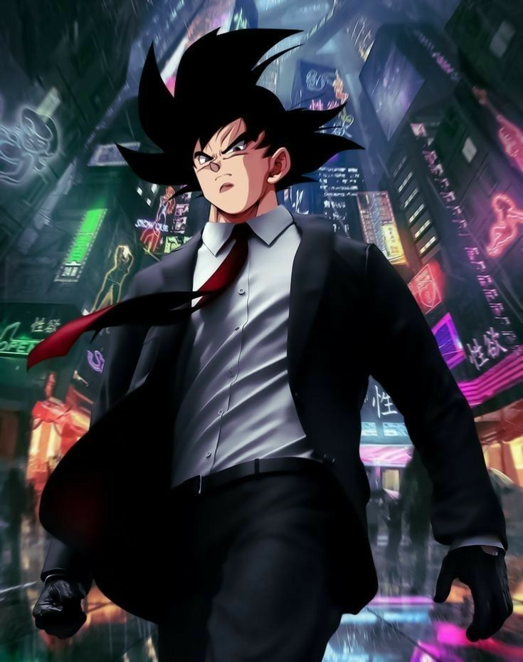 Download Cool Goku Black Wallpaper Iphone for iPhone XS Max Free