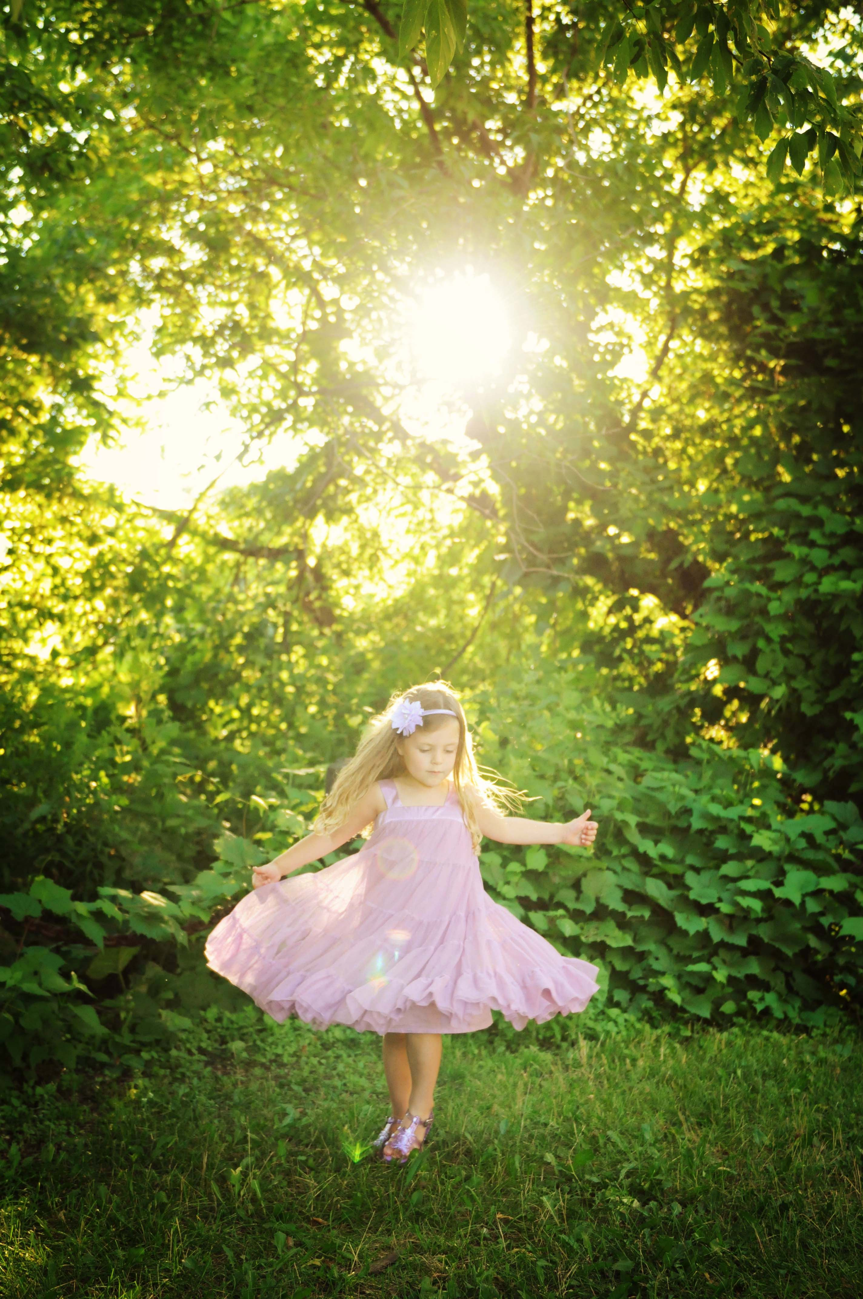 Twirling is good for the soul. It reminds us how to feel