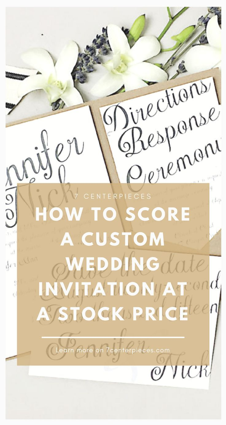 How to Purchase a Highend Wedding Invitation for a DIY