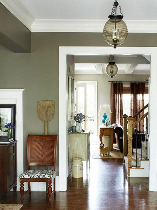 Olive Green Centsational Style Rustic House Living Room Green Rustic Living Room