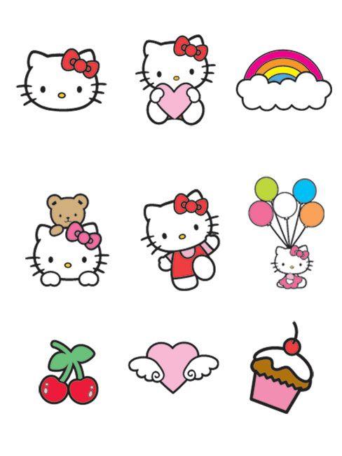 Hello Kitty Printable Use For Decor Accents Hello