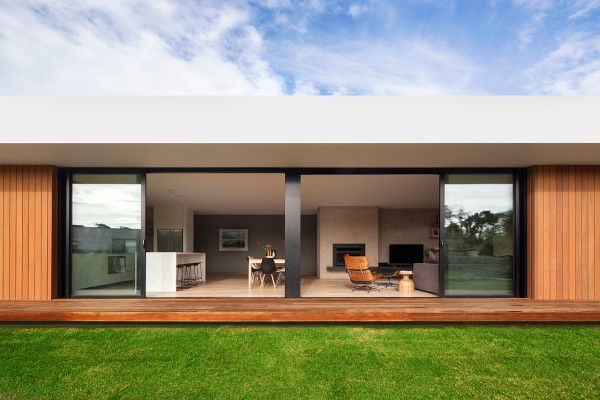 A Wood And Glass Holiday House In Australia Design Milk Architecture House House Design Modern House Design