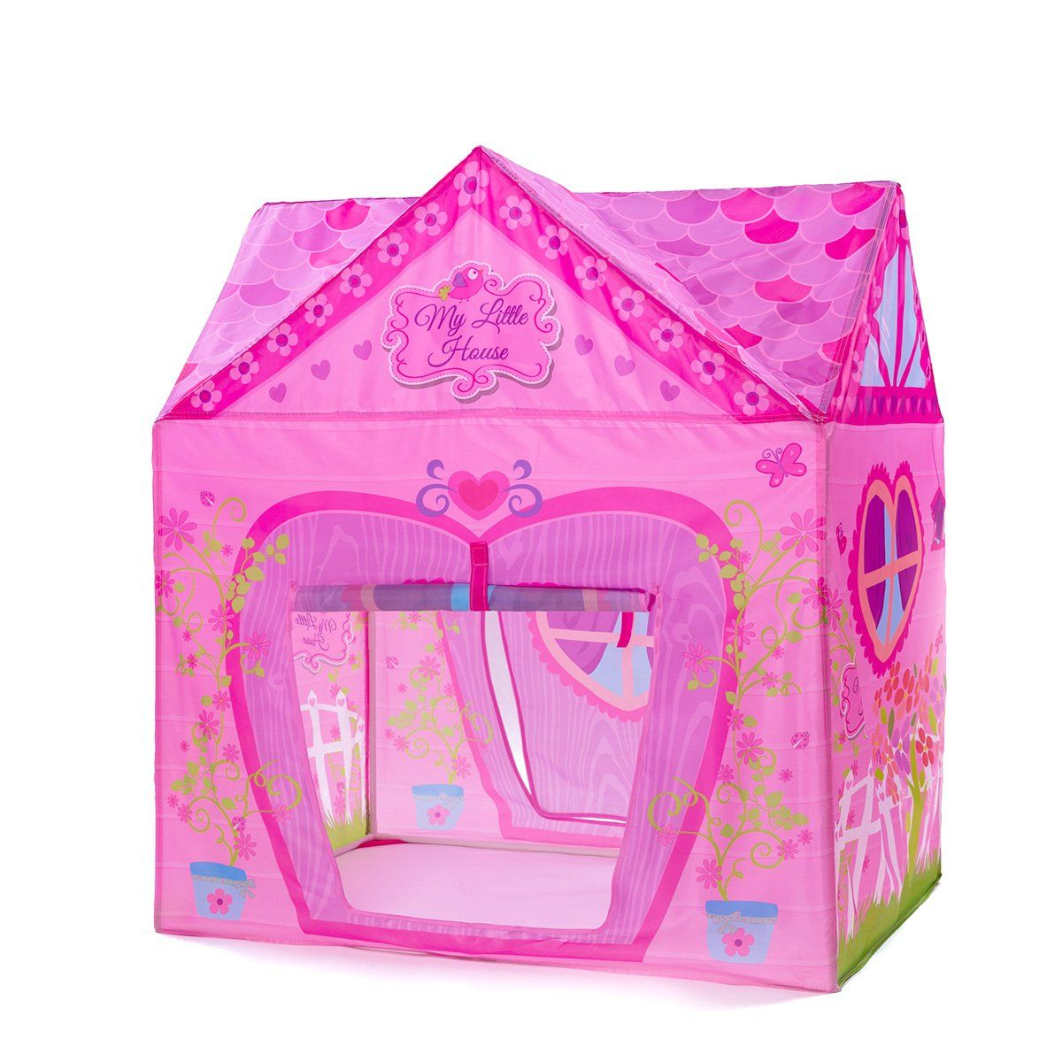 Kids Tent PLAY10 Flower Playhouse for Kids Foldable Play Tent for Children Indoor u0026 Outdoor Fun Including 10 pit balls. Lovely Flowers Design Pink Little ...  sc 1 st  Pinterest & Kids Tent PLAY10 Flower Playhouse for Kids Foldable Play Tent for ...