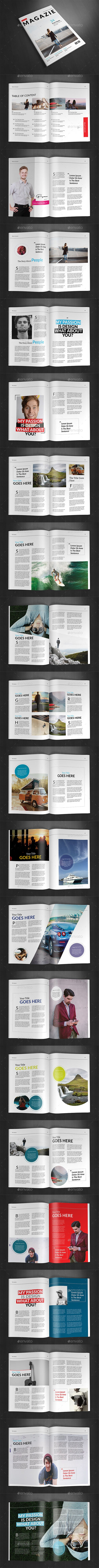 A4 Magazine Template Vol.21  — PSD Template #business magazine #a4 magazine • Download ➝ https://graphicriver.net/item/a4-magazine-template-vol21/18044682?ref=pxcr