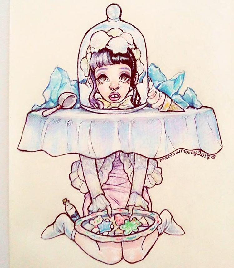 Milk And Cookies Melanie Martinez Drawings Melanie Martinez Melanie Martinez Mad Hatter