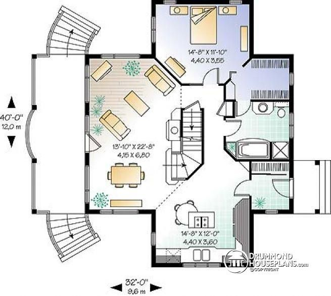 Lovely Cabin Floor Plans with Walkout Basement