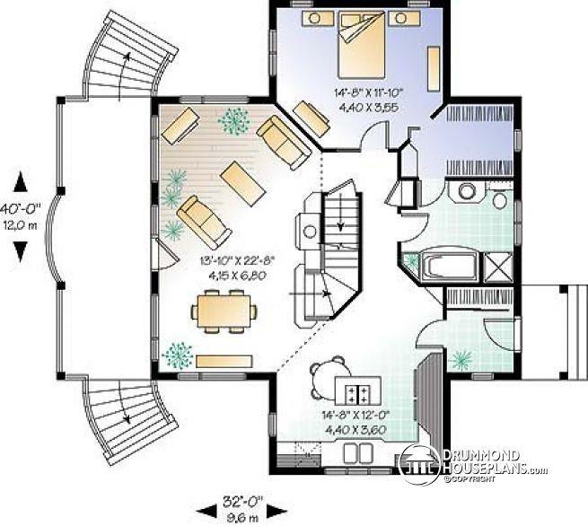 Elegant Floor Plans with Walkout Basement