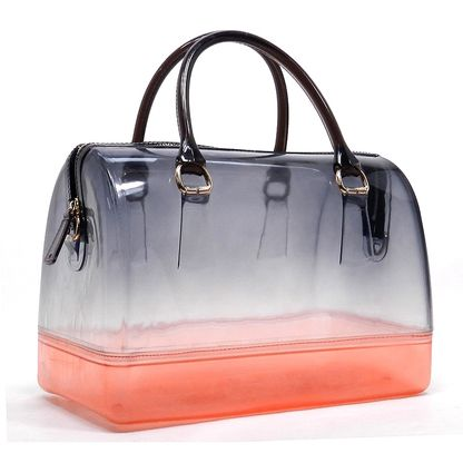 Gradient 2-tone Candy Jelly Bag