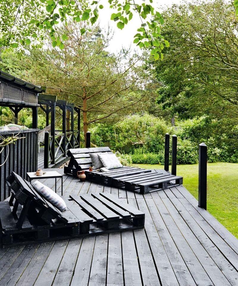 10 DIY Ideen für Palettenmöbel im Freien #palettenideen