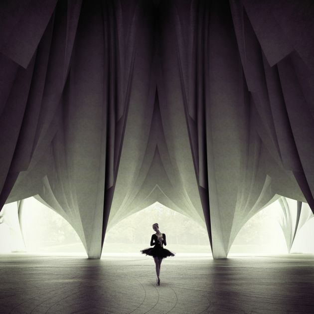 CGarchitect - Professional 3D Architectural Visualization User Community | Dancing Ballerina
