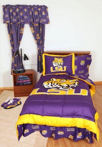 Lsu Sheet Sets Erkaljonathandedecker Custom Lsu Bedroom Style Painting