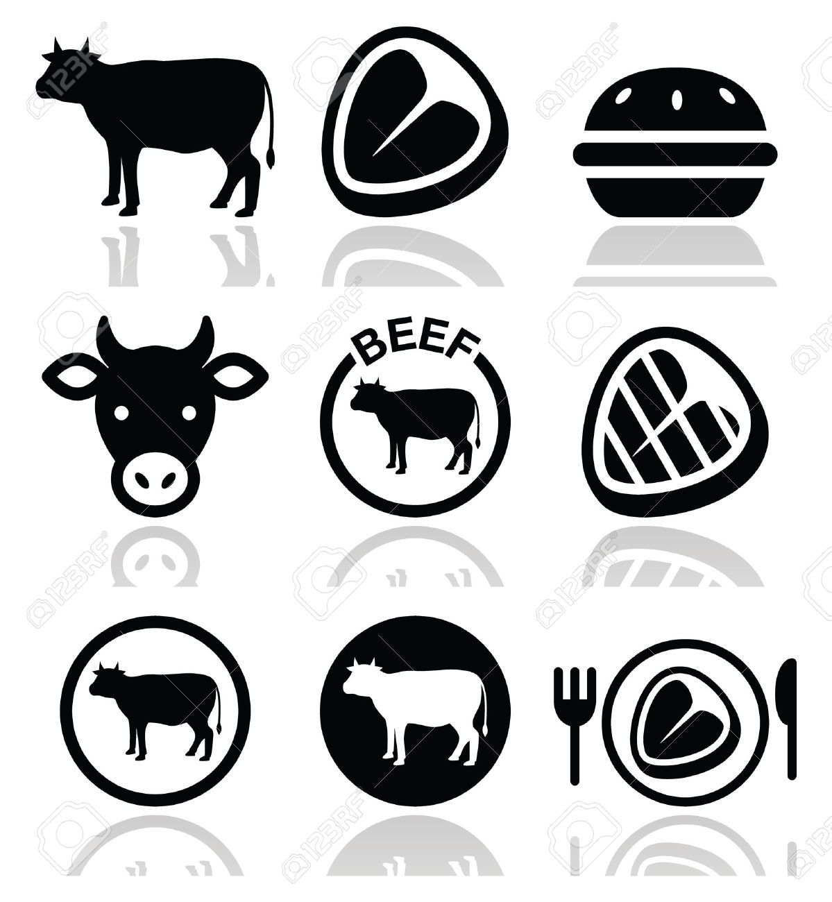 cow icon - Szukaj w Google | COW LOGO | Pinterest | Cow ...