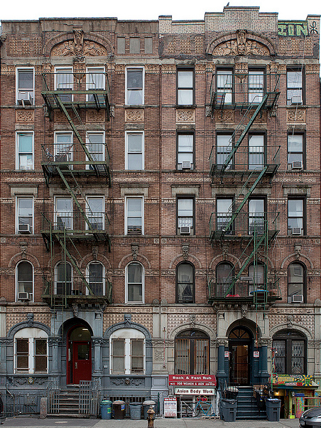 the cover of led zeppelin s physical graffiti album is actually 96
