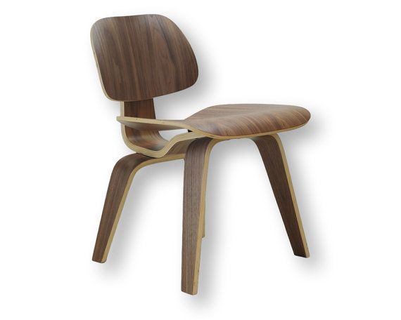 Eames Style Plywood Dining Side Chair