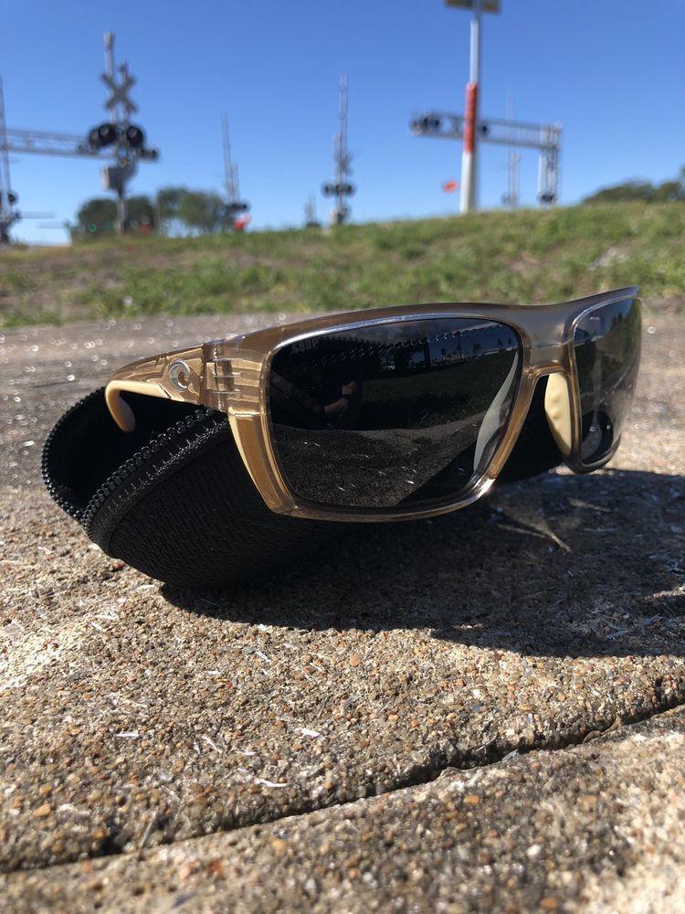 67640a99e3944 Costa Del Mar Hamlin Polarized Sunglasses - Crystal Bronze   Silver Mirror  580P  fashion  clothing  shoes  accessories  mensaccessories ...