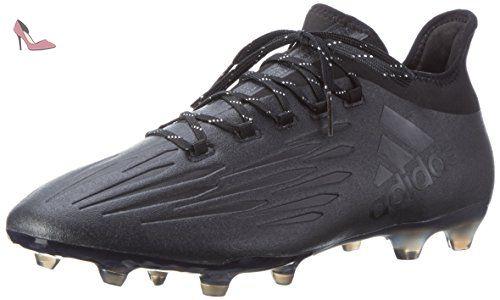 adidas X 16.1 SG, Chaussures de Football Entrainement Homme, Noir (Core Black/Core Black/Dark Grey), 46 EU