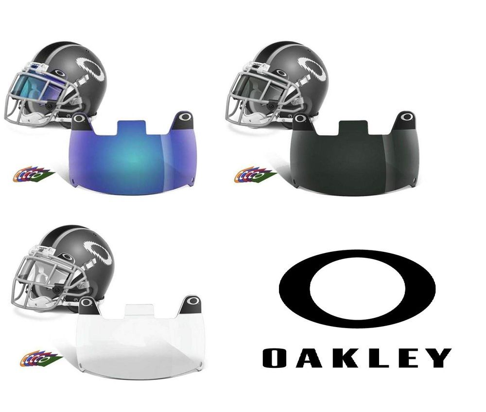 Official oakley football visor fits any adult or youth