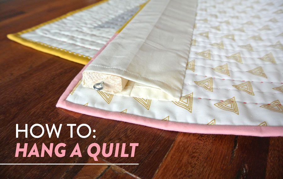 How to hang a quilt quilt hangers hanging quilts