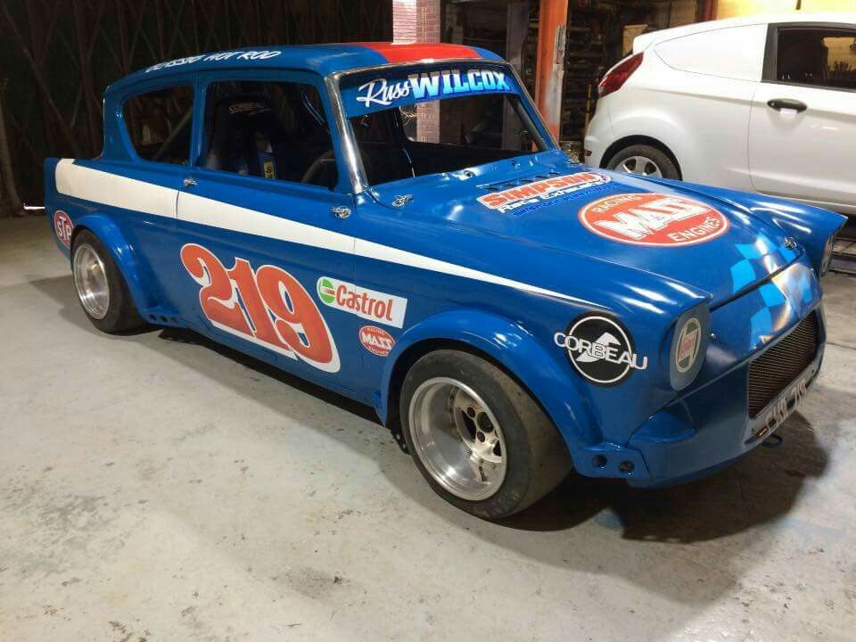 Anglia Classic Hot Rod Ford Classic Cars Stock Car Racing Car Ford