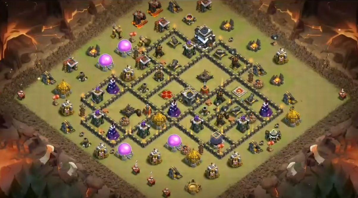 18 Best Th9 War Base 2019 New Anti 2 Stars Coc Trophy Base