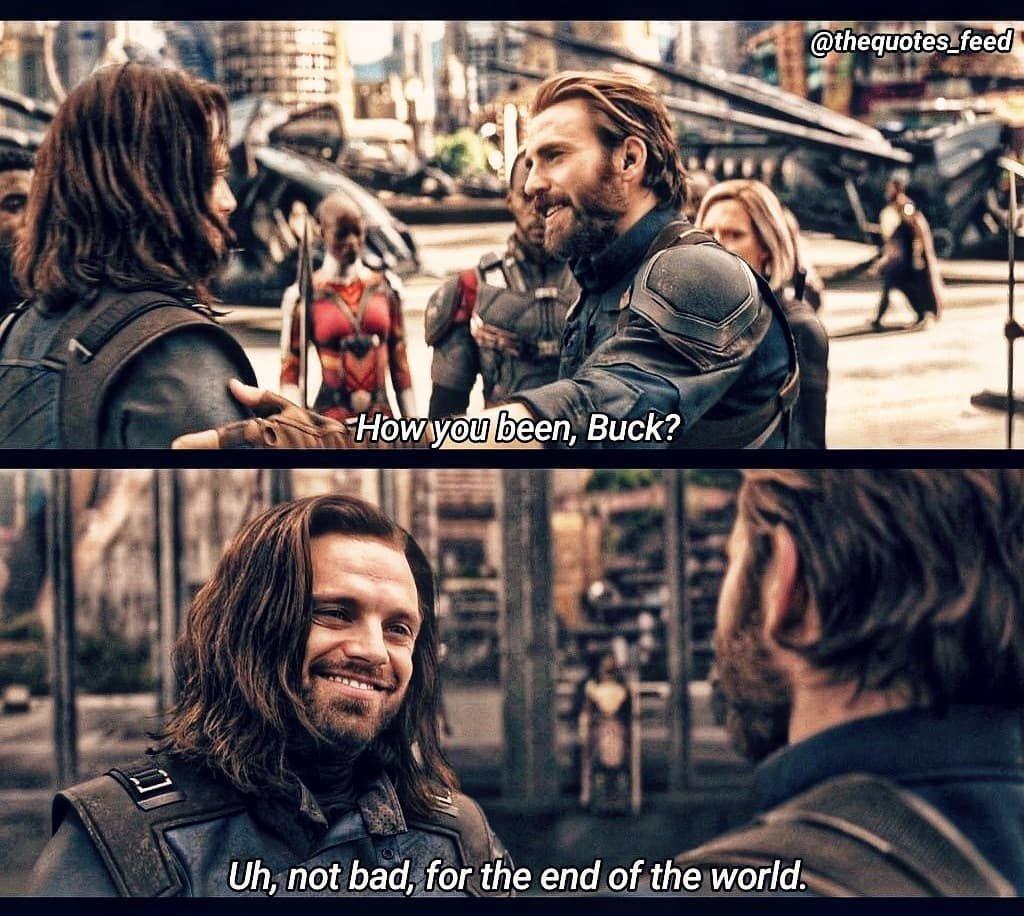 Avengers Infinity War Captainamerica Chrisevans Avenger Avengersinfinitywar Avengers Marvel S Bucky Barnes Captain America And Bucky Marvel Memes