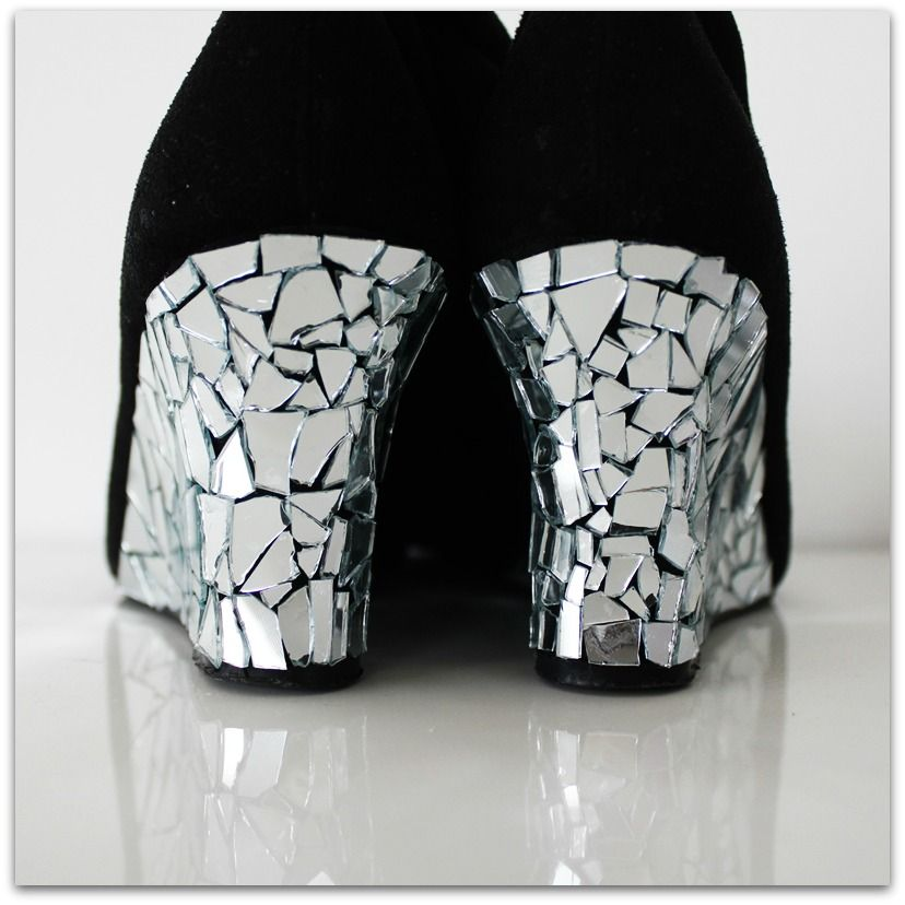 How to mirror diy some bling to your pumps this is a