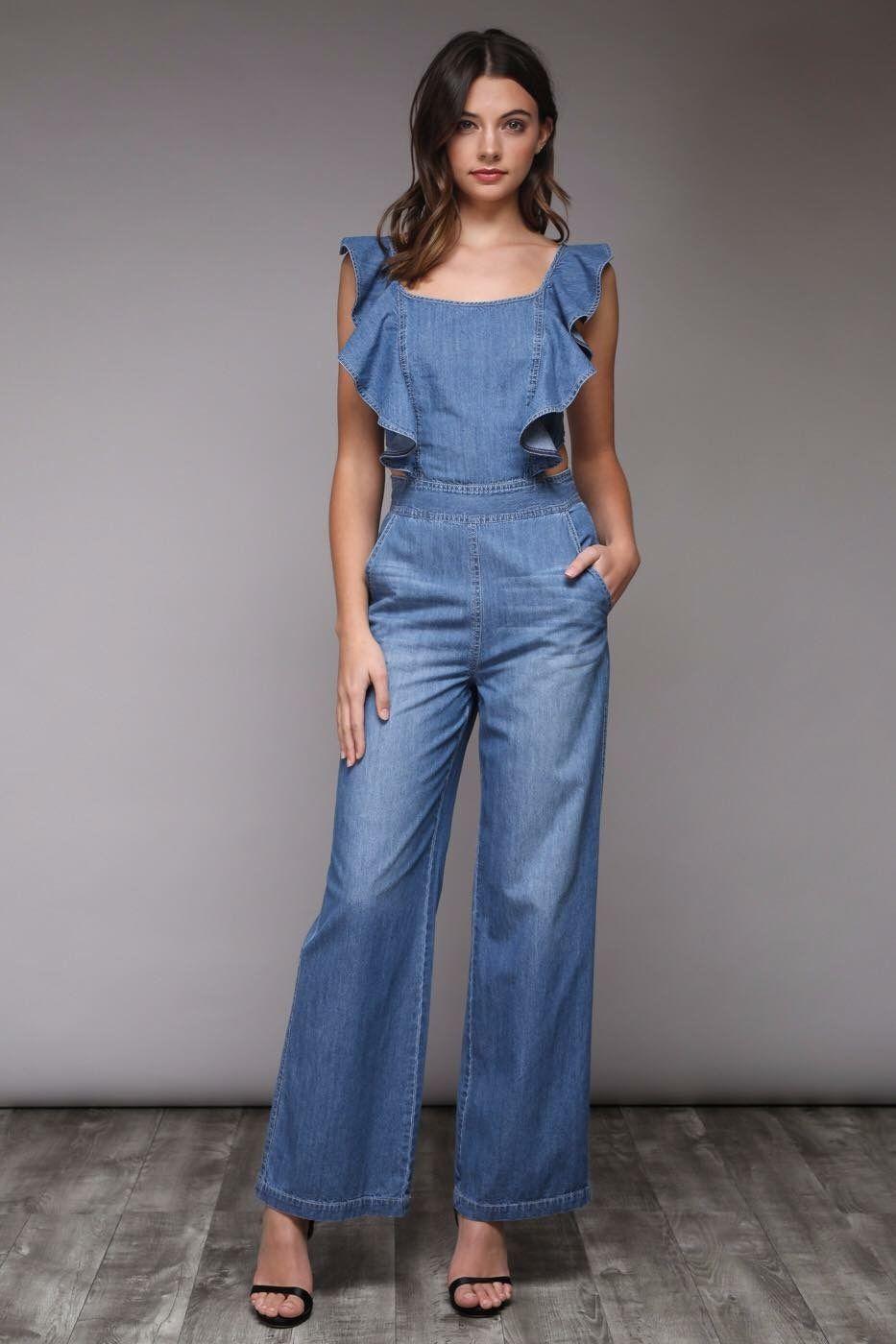 e092fa1dd4 Overol Pantalones Elegantes