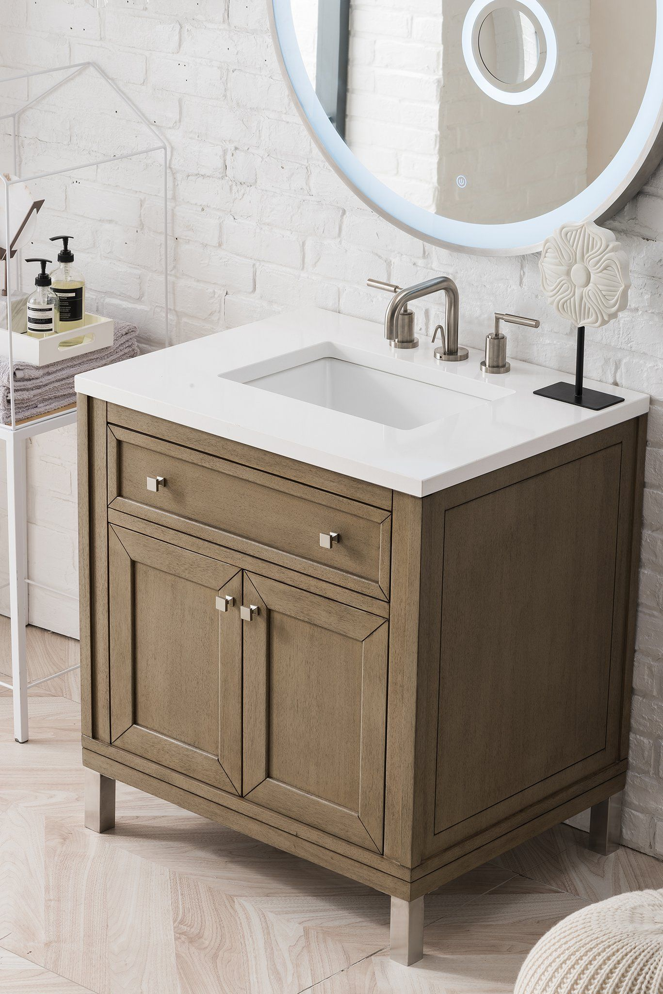 Chicago 30 Single Bathroom Vanity Bathroom Vanity Shabby Chic